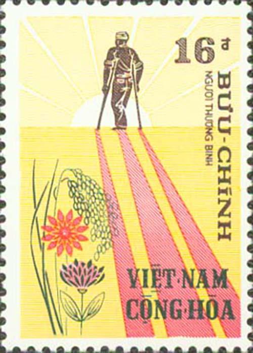 postage stamp vietnam 1972