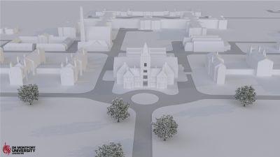 Wolverhampton Workhouse: a digital reconstruction.
